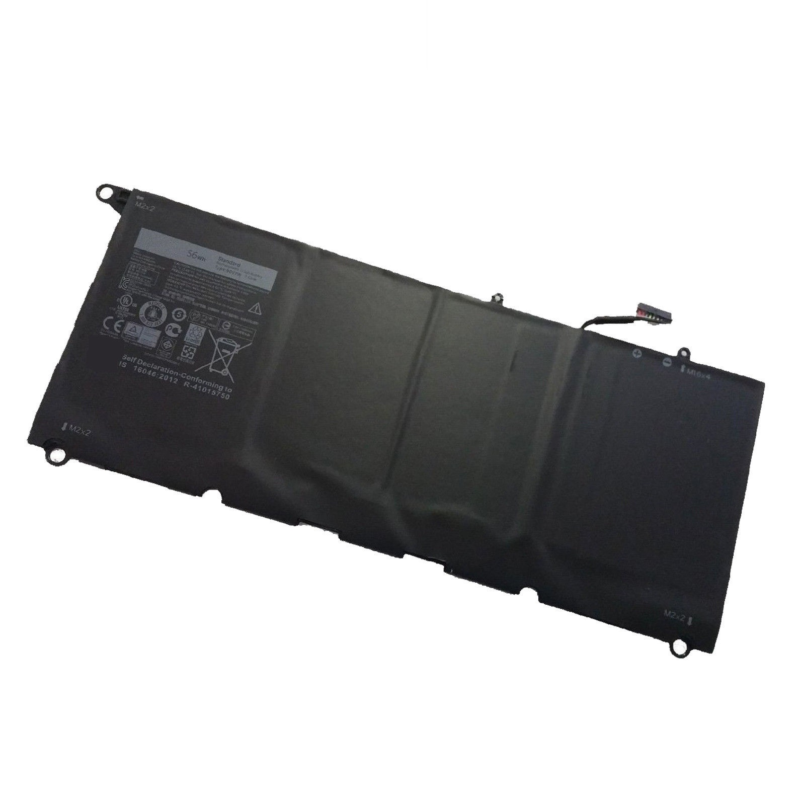 JD25G 90V7W Dell XPS13D-9343-1708 Dell XPS 13 9343 7.6V 56Wh batteria compatibile