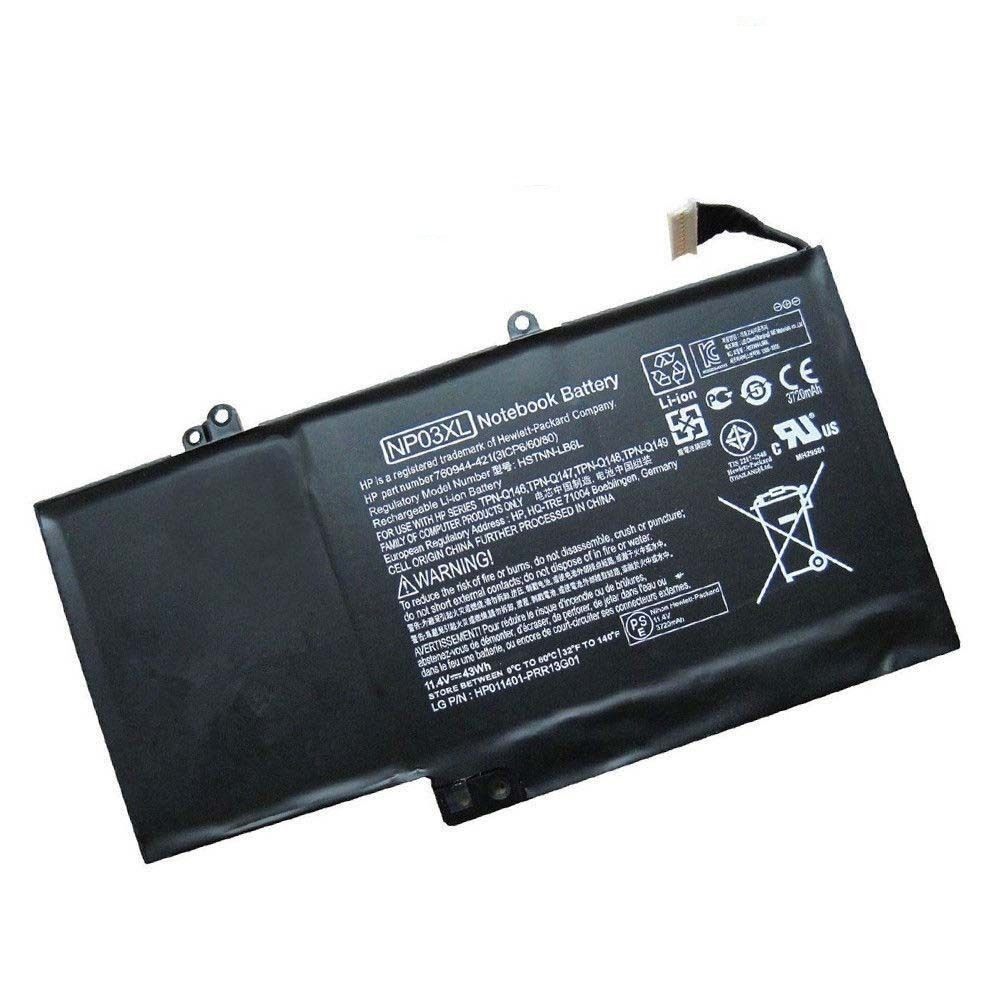 HP ENVY x360 15-u011dx NP03XL 761230-005 HSTNN-LB6L batteria compatibile