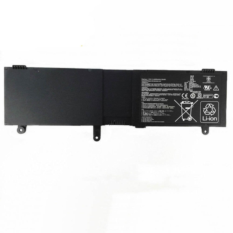 Asus N550JV-CN011P N550JV-CN027H N550JV-CN036H batteria compatibile