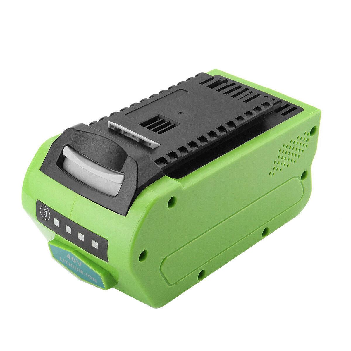 40V 5000mAh Lithium Greenworks Gen 2 29472 29462 G-MAX 40V 26272 batteria compatibile