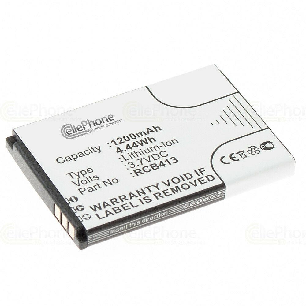 3,7V Li-Ion Doro Primo 413 - RCB413 - 1200mAh batteria compatibile