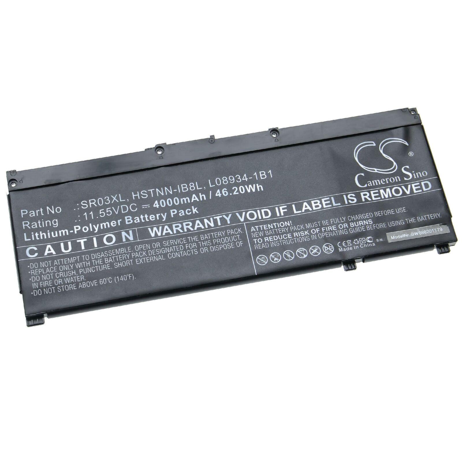 HP Pavilion 15-CX 15-cx0020nr L08855-855 HSTNN-IB8L SR03XL batteria compatibile